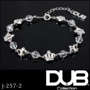 DUB Collection j-257-2 Glittering Lily Bracelet ユニ...