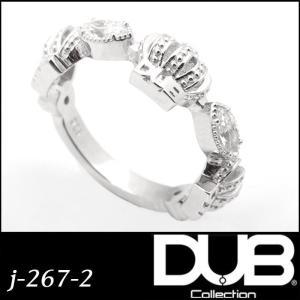 DUB Collection ユニセックス リング 指輪 j-267-2 Classical Cro...
