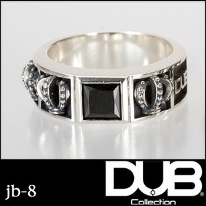 DUB Black Collection jb-8 Royal Crown メンズ RING ダブジ...