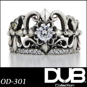 Luxury DUB ユニセックス リング 指輪 OD-301 Five cross Ring  ダ...