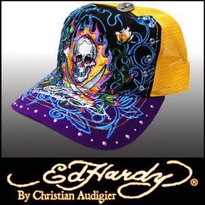 エドハーディー キャップ 【200種類の品揃え】 Ed Hardy Cap Two Sword メンズ レディース ファッション 雑誌 掲載 ブランド 帽子 カジュアル スタイル セール|crs