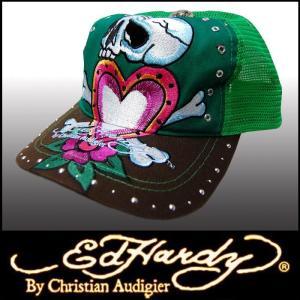エドハーディー キャップ 【200種類の品揃え】 Ed Hardy Cap SKULL HEAT メンズ レディース ファッション 雑誌 掲載 ブランド 帽子 カジュアル スタイル セール|crs