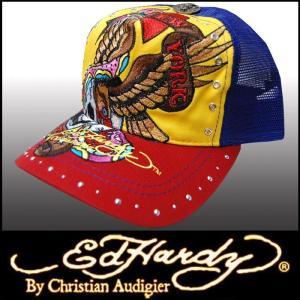 エドハーディー キャップ 【200種類の品揃え】 Ed Hardy Cap NYC イエロー メンズ レディース ファッション ブランド 帽子 カジュアル スタイル セール|crs
