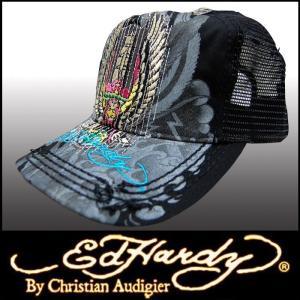 エドハーディー キャップ 【200種類の品揃え】 Ed Hardy Cap WORLD EAGLE ブラック メンズ レディース ファッション ブランド 帽子 カジュアル スタイル セール|crs