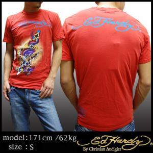 【セール】 エドハーディー メンズ Tシャツ Ed Hardy DRAGON&SWORD2 ...
