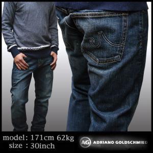 ★AG Jeans メンズ AGジーンズ ADRIANO Geffen Slouchy Slim 1109GUIEXL34 デニムパンツ サファリ safari 掲載 正規 ブランド|crs