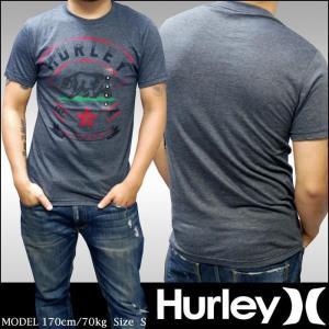 【セール】 ハーレー メンズ Tシャツ ヘザー ブラック CALI HURLEY シャツ safar...