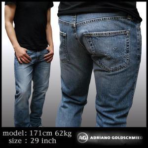 AG Jeans メンズ AGジーンズ ADRIANO the Protege ストレート 1049GUIPOS デニムパンツ サファリ safari 掲載 正規 ブランド|crs