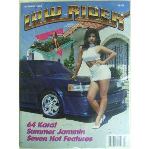 アメリカ版 ローライダーマガジン 1989年10月号 October 1989 輸入雑誌 Lowri...
