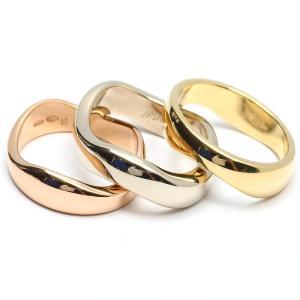 f8d53f3848e6 カルティエ ラブミーリング 指輪 3連 K18YG(750) イエローゴールド x K18WG ホワイトゴールド x K18PG ピンクゴールド