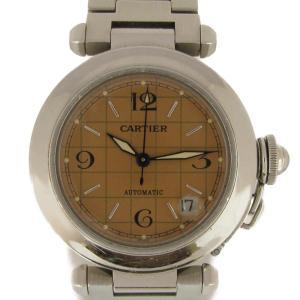 カルティエ パシャC 腕時計 ウォッチ ステンレススチール(SS) W31024M7 ランクB|cruru