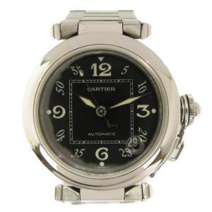 カルティエ パシャC 腕時計 ウォッチ ステンレススチール(SS) W31043M7 ランクA|cruru