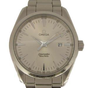 オメガ シーマスター アクアテラ 腕時計 ウォッチ ステンレススチール(SS) 2518.30 ランクA|cruru