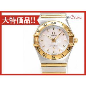 オメガ コンステレーション ミニ 腕時計/レディース ステンレススチール(SS)xK18YG(イエローゴールド) 1362.70 ランクA|cruru