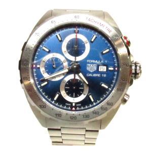 【特価商品】タグ・ホイヤー フォーミュラ1 クロノグラフ 腕時計/メンズ/SALE/お買得品 シルバー ステンレススチール(SS) CAZ2015 ランクA|cruru