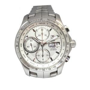 タグ・ホイヤー リンク タキメータークロノ デイデイト 腕時計/メンズ/おすすめ ステンレススチール(SS) CJF211B BA0594 ランクA|cruru