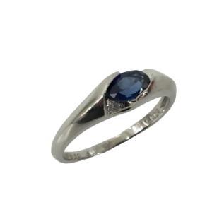 ジュエリー ジュエリー  サファイア ダイヤモンド 指輪 リング 白系  ランクA 13号 cruru