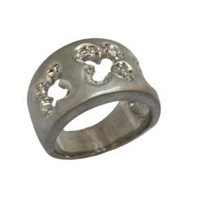 ジュエリー ジュエリー ダイヤモンド 指輪 リング 白系 K18WG(750)ホワイトゴールド×ダイヤモンド(0.15ct)  ランクA 12号 cruru