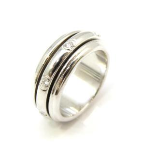 ピアジェ ポセション7Pダイヤ リング 指輪 レディース K18WG(750)ホワイトゴールド×ダイヤモンド  ランクA #56/16号|cruru