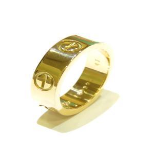 カルティエ ラブリング 指輪 レディース K18YG(750)イエローゴールド  ランクA #47/6.5号|cruru