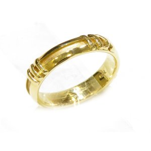 ティファニー ニューメリック アトラスリング 指輪 レディース K18YG(750)イエローゴールド  ランクA 11.5号|cruru