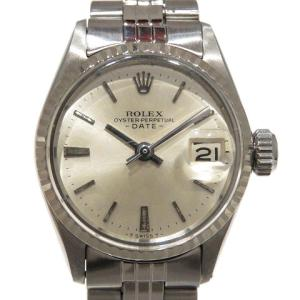 【特価商品】ロレックス デイト ウォッチ 腕時計/SALE/お買得品 ステンレススチール(SS)K14WG 6517 ランクB|cruru