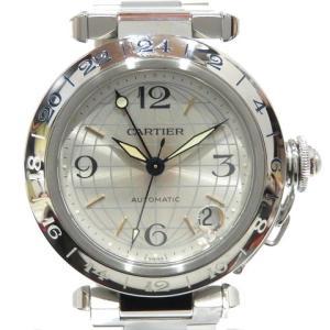 カルティエ パシャC メリディアン/腕時計 ステンレススチール(SS)  ランクB|cruru
