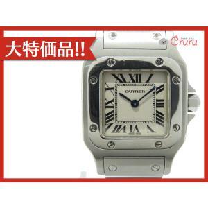 カルティエ サントス ガルベSM/腕時計/レディース ステンレススチール(SS)  ランクA|cruru