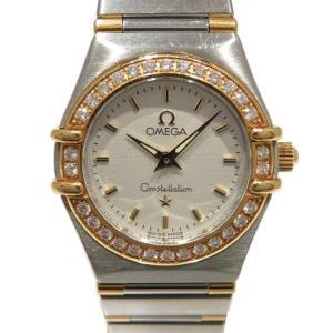 オメガ コンステレーション ダイヤベゼル/腕時計/レディース ステンレススチール(SS)×K18YG(750)イエローゴールド  ランクB|cruru