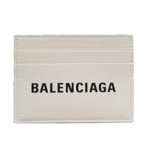 バレンシアガ エブリディ カードケース その他 ホワイト レザー 490620 ランクA|cruru