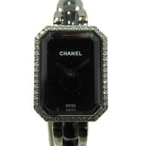シャネル プルミエールダイヤベゼル/腕時計/レディース/おすすめ ステンレススチール(SS)×セラミック H2163 ランクA|cruru