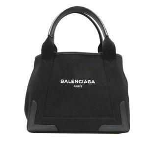 バレンシアガ カバ トートバッグ レディース ブラック キャンバス×レザー 339933-109DA533269 ランクA|cruru