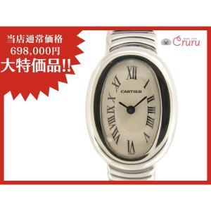 【特価商品】カルティエ ミニベニュワール 腕時計/レディース/おすすめ/SALE/お買得品 K18WG(750)ホワイトゴールド  ランクA|cruru