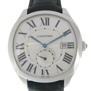 カルティエ ドライブドゥカルティエ 腕時計/メンズ/おすすめ/SALE ステンレススチール(SS)×レザーベルト WSNM0004 ランクA|cruru