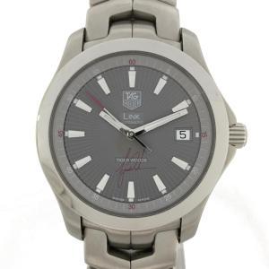 タグ・ホイヤー リンクタイガーウッズコラボ 腕時計 ウォッチ シルバー ステンレススチール(SS) WJF2113 ランクA|cruru