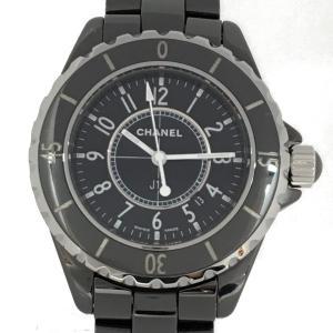 シャネル J12 腕時計 ウォッチ ブラック セラミック H0682 ランクA|cruru