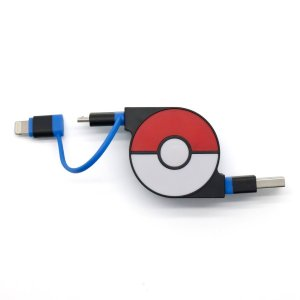 【即納★新品】CHEERO 2in1 Retractable USB Cable with Ligh...