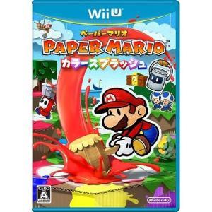 【即納★新品】Wii U ペーパーマリオ カラースプラッシュ...