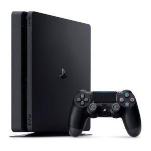 【即納★新品】PS4 PlayStation4 ジェット・ブラック 500GB(CUH-2100AB01)