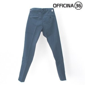 OFFICINA 36(オフィチーナトレンタセイ)ベーシックテーパードチノパン・ブルー|crux|04