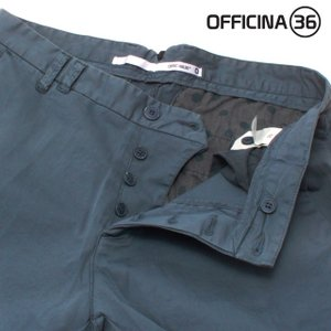 OFFICINA 36(オフィチーナトレンタセイ)ベーシックテーパードチノパン・ブルー crux 05