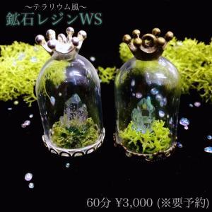 【店舗WSレシピ】鉱石テラリウム|crystal-aglaia