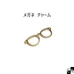 メガネ チャーム ゴールド crystal-aglaia