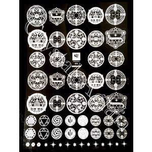 Magical symbols【ホワイト】|crystal-aglaia