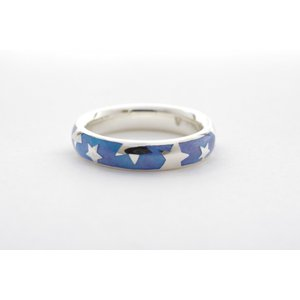 星降る銀の指輪 #14 crystal-aglaia