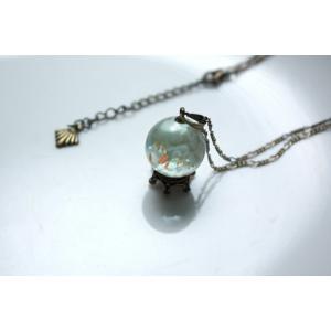 ビー玉観察機【シロウサギウミウシ・泡】|crystal-aglaia