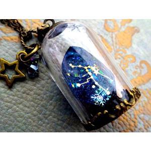 鉱石ネックレス/星座 crystal-aglaia