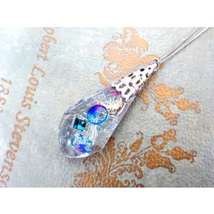 月×海月ネックレス crystal-aglaia