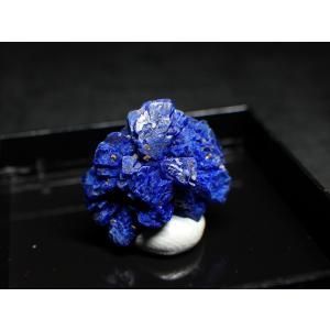 ニューメキシコ州産 アズライト/Azurite 原石 A-AZR033