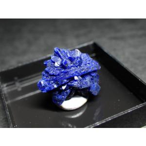 ニューメキシコ州産 アズライト/Azurite 原石 A-AZR035
